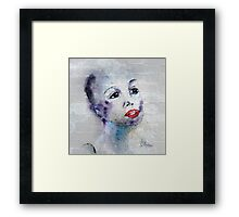 The Woman I Am Framed Print