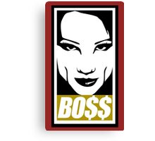 Obey The Bo$$ Canvas Print
