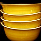 Yellow Bowls by Mattie Bryant