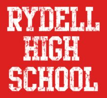 Retro Rydell High School One Piece - Short Sleeve