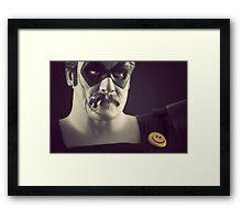 Edward Blake/The Comedian Framed Print