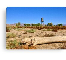 Nelson Studios Water Tower Canvas Print