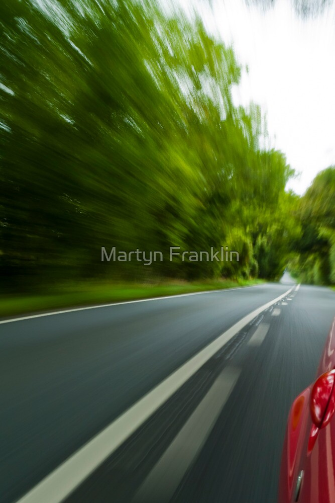 Speed and motion by Martyn Franklin