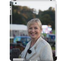 Carol Kirkwood BBC iPad Case/Skin