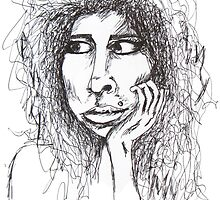 Amy Winehouse  by hauscat