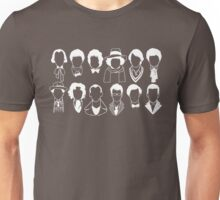 The Twelve Doctors - Doctor Who - White Unisex T-Shirt