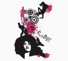Afro Chick Create or Die by CreateOrDie