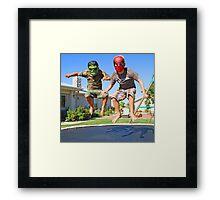 Marvel Us Framed Print