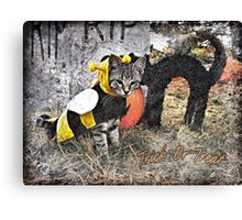 Trick~Or~Treat Canvas Print