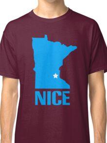 Minnesota nice geek funny nerd Classic T-Shirt