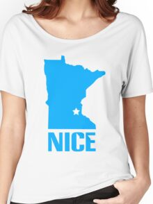 Minnesota nice geek funny nerd Women's Relaxed Fit T-Shirt
