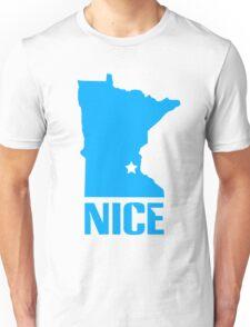 Minnesota nice geek funny nerd Unisex T-Shirt