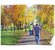 Strolling in the Park Poster