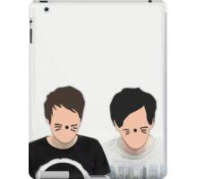 Dan & Phil - Cartoon Faces iPad Case/Skin