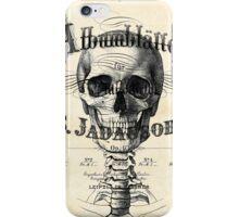 pianoforte skull iPhone Case/Skin
