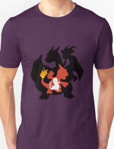 pokemon charizard charmander charmeloen anime manga shirt T-Shirt