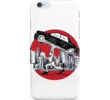 Pedestrian Up Car iPhone Case/Skin