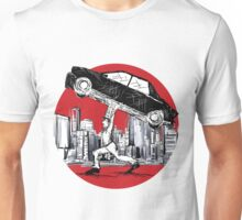 Pedestrian Up Car Unisex T-Shirt