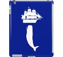 Moby dick rising geek funny nerd iPad Case/Skin