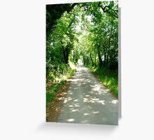 Tuscany walk Greeting Card