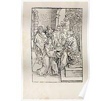 Opera Hrosvite, Illustrious virgin nun and genuine Albrecht Durer 1501 0008 Poster