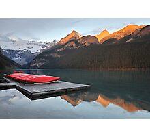Lake Louise Jetty Photographic Print