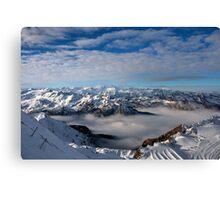 Winter on Kitzsteinhorn 53 Canvas Print