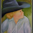 Young Cowboy With A Big Hat by Noel78