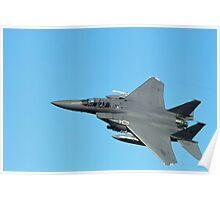 F-15  TOPGUN Poster