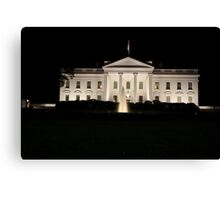 The White House Canvas Print