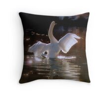 One day I will fly with stars Throw Pillow