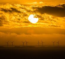 Bridlington Wind Farm by Neil Cameron