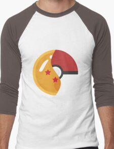 Pokeball Z Men's Baseball ¾ T-Shirt