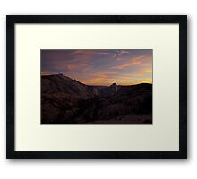 Olmsted Sunset Framed Print