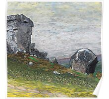 Cow and Calf rocks Poster