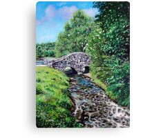 'The Bridge at Bass Lake' Canvas Print