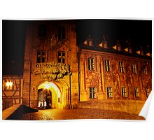 Bamberg - Old Town Hall - Germany Poster