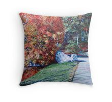 'Autumn Blaze' Throw Pillow