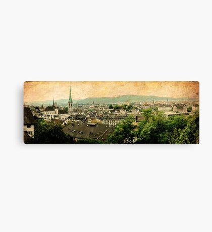 Ol' Zurich town Canvas Print