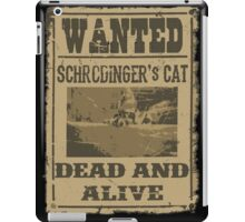Dead and Alive iPad Case/Skin