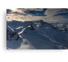 Winter on Kitzsteinhorn 62 Canvas Print