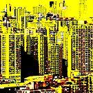 YellowSkyline by GODofNEON
