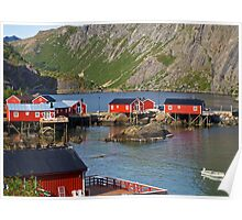 Norway's Oldest Fishing Village. Poster