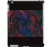 Red and Blue Eyes iPad Case/Skin