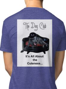 """""""all about the cutness"""" Tri-blend T-Shirt"""