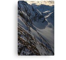 Winter on Kitzsteinhorn 63 Canvas Print