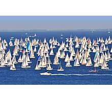 Regatta - Barcolana 2010 Photographic Print