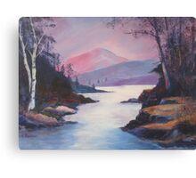 SHINING WATER Canvas Print