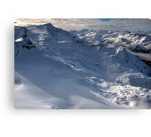 Winter on Kitzsteinhorn 66 Canvas Print