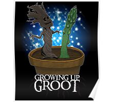 Growing Up Groot Poster
